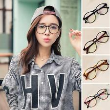 Glasses Vintage Clear Lens Sunglasses S Frame Retro Round Glass Eye Black Trend