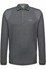 Polo Shirt Fit Men Nwt Standard S M L Xl Xxl Size Sleeve T Long New Hugo Boss