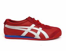 ASICS Onitsuka Tiger Unisex MEXICO 66 Running Shoes Red/White HL7C2-2301 a2