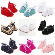 Fall Baby Boy Girls Boots Sneakers Toddler 0-18M Kid Soft Crib Shoes Warm Boots