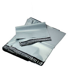 """GREY MAILING STRONG BAGS POLY POSTAL POSTAGE 6"""" X 9"""" 10,25,50,100,200,500,1000"""