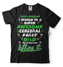 Cerebral Palsy Dad T-shirt Cerebral Palsy Awareness T-shirt for Father Dad