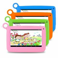 7 Inch 8GB Quad Core Android 4.4 Tablet PC Dual Cam Bluetooth Kid Children Wifi