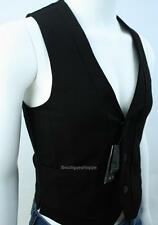 Armani Exchange A|X Mens Tuxedo Lined Sleeveless Button Front Vest NWT $110