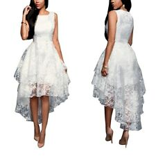 Sexy Chic Women's organza Lace Bridesmaid Evening Prom Ball Cocktail Party Dress