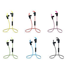 Wireless Bluetooth Headphones Stereo HiFi Earbuds for iPhone Samsung Smartphones