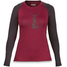 Dakine Womens Hillcrest Crew Ski Snowboard Base Layer Thermal Top – Rosewood/...