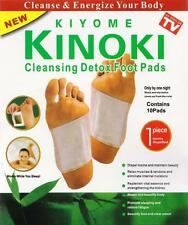 10/50pcs Natural Health Care Plant Detox Foot Pads Patch Detoxify Toxins Sticker