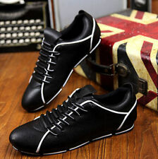 New Men fashion Casual suede shoes British Lace Up Loafers Sneakers Sport Shoes