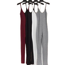 1Pcs Jumpsuit Cotton Sexy Womens V-Neck Rompers 2017 Summer Fashion New Casual