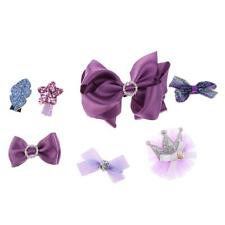 7 Pieces Hair Accessories Girls Hair Accessories Hair clips Bows alligator clips