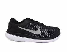 Nike Preschool Kids' FLEX 2016 RN PS Running Shoes Black/Silver 834278-001 a