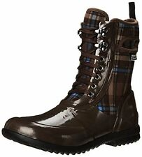 Bogs Sidney Lace Plaid-W Womens Plaid All Weather Rain Boot- Choose SZ/Color.