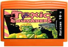 Toxic Crusaders, game 8 bit NES for Famicom, Dendy, Fast delivery of air!