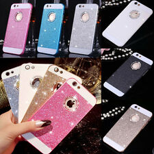 Luxury Crystal Hard Back Phone Case Cover For iPhone 5s-6S-7-Plus Bling Glitter