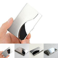 Stainless Steel Metal Wallet Pocket Box Case Business ID Credit Card Holder