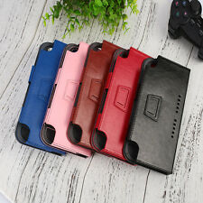 For Nintendo Switch Gamepad Leather PU Cover Case Skin Anti-Scratch Durable