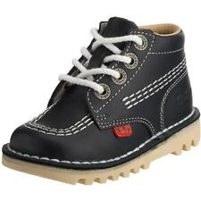 Kickers Kick Hi Infant Dark Navy Leather Boots