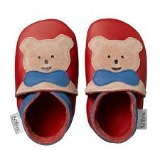 Bobux Teddy Red Leather Soft Soles