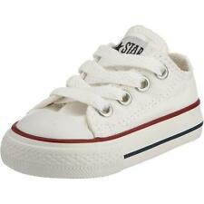 Converse Chuck Taylor All Star Infant Optical White Textile Trainers