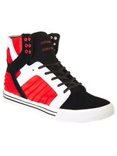 Supra Black-Red-White Skytop Evo Shoe
