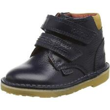 Kickers Adlar Twin Infant Dark Blue Leather Ankle Boots