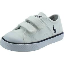 Polo Ralph Lauren Dyland Ez Infant White Textile Trainers