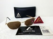 Vintage Ray Ban Sunglasses Bausch & Lomb Matte Gold Metal