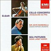 Elgar: Cello Concerto; Sea Pictures Edward Elgar, John Barbirolli, London Symph