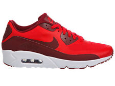 NEW MENS NIKE AIR MAX 90 ULTRA 2.0 RUNNING SHOES TRAINERS UNIVERSITY RED / WHITE