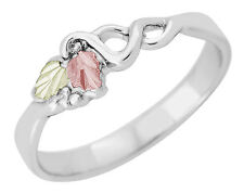 Black Hills Gold on Sterling Silver Ladies Ring Size 4 - 10