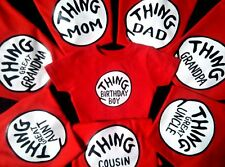 thing one and thing two t-shirts 3month infant toddler youth adult thing t-shirt