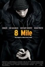 8 MILE FILM MOVIE METAL TIN SIGN POSTER WALL PLAQUE