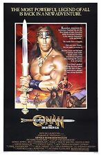 Conan The Destroyer (1984) FILM MOVIE CINEMA METAL TIN SIGN POSTER WALL PLAQUE