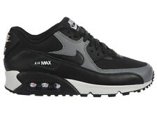 NEW WOMENS NIKE AIR MAX 90 RUNNING SHOES TRAINERS BLACK / BLACK / COOL GREY / BL