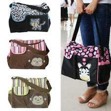 Cute Animal Baby Changing Bag Nappy Tote Mummy Diaper Bag with Changing Pad