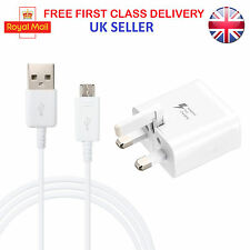 Genuine Mains USB Fast Adaptive Charger For Samsung Galaxy S3 S4 S5 S6 S7 Edge+