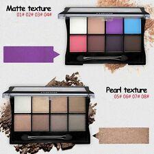 Multi-Color Eyeshadow Palette Smokey Shimmer Matte Press Powder Ladies Eyeshadow