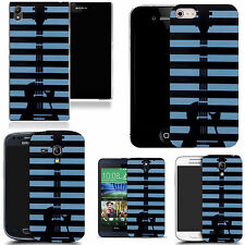 hard back case cover for many mobiles - guitar stripey