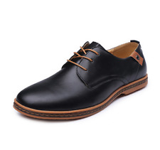 PLUS SIZE New Mens Stylish Dress Formal Casual Mens Lace Up Oxford Shoes