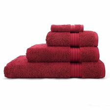 LUXURY SUPREME 500 GSM 100% EGYPTIAN COTTON SATIN STRIPE TOWELS
