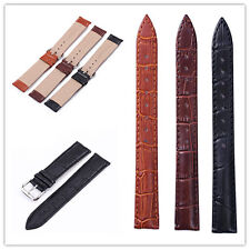 Genuine Calf  Leather Watch Band Strap18mm 20mm 22mm 24mm watchband Croco Grain