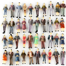 100 Model People Figures Passenegers Train Scenery O Scale 1:50 Mixed Color Pose