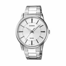 Casio Enticer Mens Analog Watch Casual Silver Band MTP-1303D-7A