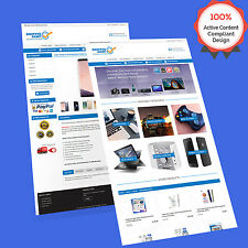 3 in 1 Mobile Responsive Ebay Store Design & Auction Listing Template HTML 2017