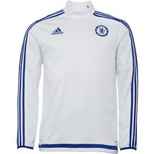 adidas Mens CFC Chelsea 3 Stripe ClimaCool Mock Neck Training Top SMALL