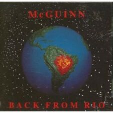ROGER MCGUINN Back From Rio CD US Arista 1991 10 Track (Arcd8648)