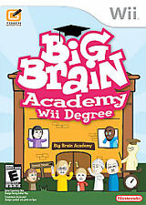 Big Brain Academy: Wii Degree (Nintendo Wii, 2007) Complete FAST SHIPPING