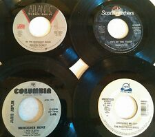 WHOLESALE BOX LOT OF 100 UNSLEEVED JUKEBOX 45RPM RECORDS