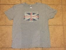 Three Olives Vodka British Flag Gray T Shirt